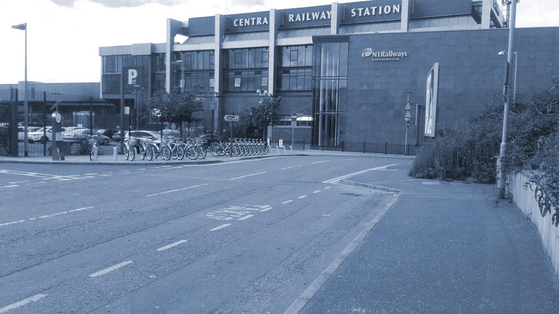 Über Belfast Central